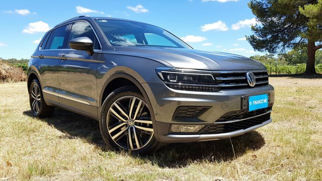 Used Volkswagen Tiguan 5N MY19.5 162TSI DSG 4MOTION Highline Nuriootpa, 2019 Volkswagen Tiguan 5N MY19.5 162TSI DSG 4MOTION Highline Grey 7 Speed
