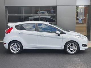 2016 Ford Fiesta WZ Sport White 5 Speed Manual Hatchback.