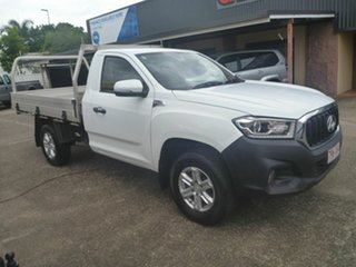 2018 LDV T60 SK8C Pro White 6 Speed Manual Cab Chassis.