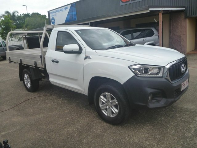 Used LDV T60 SK8C Pro Morayfield, 2018 LDV T60 SK8C Pro White 6 Speed Manual Cab Chassis