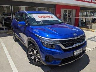 2020 Kia Seltos SP2 MY21 Sport 2WD Neptune Blue 1 Speed Constant Variable Wagon.