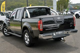 2014 Nissan Navara D40 S7 ST 4x2 Black 5 Speed Sports Automatic Utility