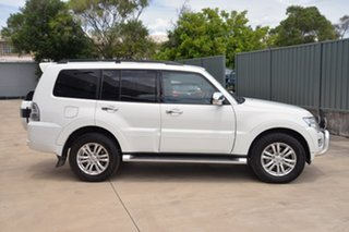 2015 Mitsubishi Pajero NX MY15 GLS White 5 Speed Sports Automatic Wagon.