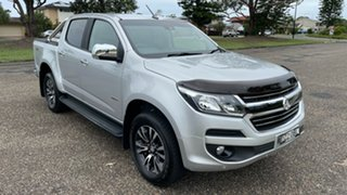 2019 Holden Colorado RG MY19 LTZ Pickup Crew Cab Silver 6 Speed Sports Automatic Utility.