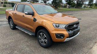 2020 Ford Ranger PX MkIII 2020.25MY Wildtrak Saber 10 Speed Sports Automatic Double Cab Pick Up.