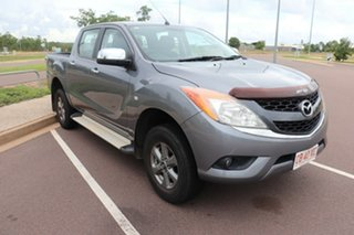 2014 Mazda BT-50 UP0YF1 XTR 4x2 Hi-Rider 6 Speed Automatic Dual Cab Utility.