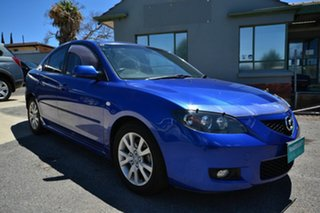 2006 Mazda 3 BK Maxx Sport Blue 5 Speed Manual Sedan.