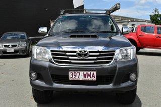 2013 Toyota Hilux KUN26R MY12 SR5 (4x4) Grey 5 Speed Manual Dual Cab Pick-up.