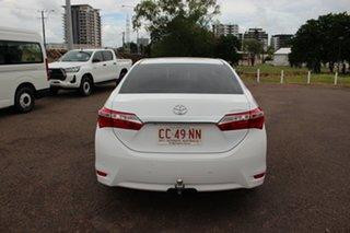2016 Toyota Corolla ZRE172R SX S-CVT Glacier White 7 Speed Constant Variable Sedan