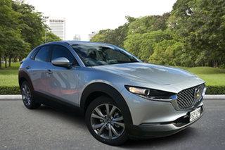2020 Mazda CX-30 DM2W7A G20 SKYACTIV-Drive Evolve Sonic Silver 6 Speed Sports Automatic Wagon.