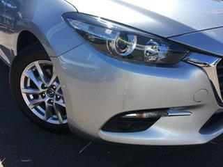 2017 Mazda 3 BN5478 Touring SKYACTIV-Drive Billet Silver 6 Speed Sports Automatic Hatchback.