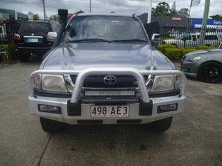 2003 Toyota Hilux VZN167R MY02 SR5 Silver 4 Speed Automatic Utility