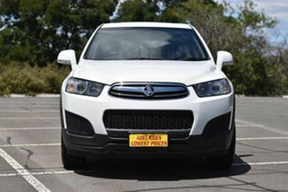 2014 Holden Captiva CG MY14 7 LS White 6 Speed Automatic Wagon.