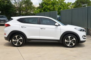 2016 Hyundai Tucson TLE Highlander AWD White 6 Speed Sports Automatic Wagon.