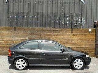 2001 Holden Astra TS MY2002 SRi Black 5 Speed Manual Hatchback.