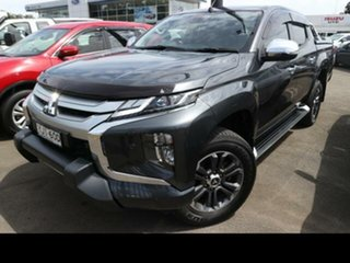 2018 Mitsubishi Triton MR MY19 GLS (4x4) Premium Grey 6 Speed Automatic Double Cab Pick Up.