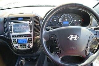 2008 Hyundai Santa Fe CM MY08 Upgrade SLX CRDi (4x4) White 5 Speed Automatic Wagon