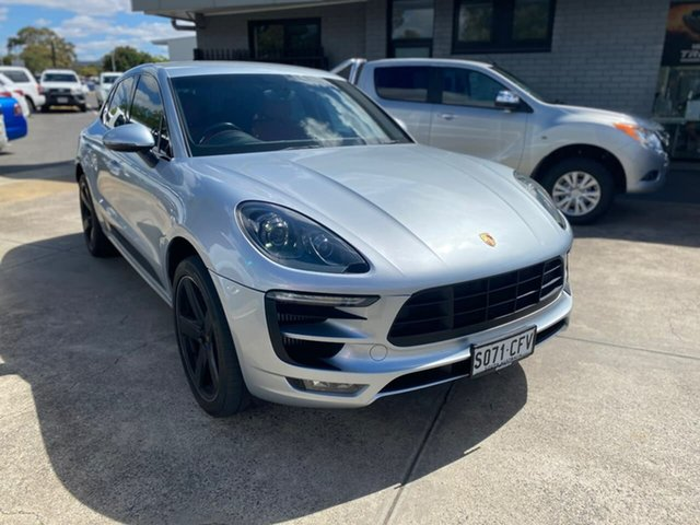 Used Porsche Macan 95B MY15 S PDK AWD Hillcrest, 2014 Porsche Macan 95B MY15 S PDK AWD Silver 7 Speed Sports Automatic Dual Clutch Wagon