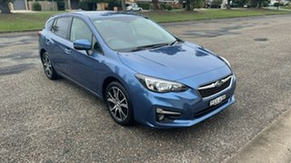 2018 Subaru Impreza G5 MY18 2.0i-L CVT AWD Blue 7 Speed Constant Variable Hatchback.
