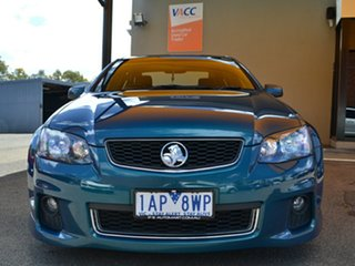 2013 Holden Commodore VE II MY12.5 SV6 Z Series Green 6 Speed Sports Automatic Sedan