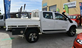 2013 Holden Colorado RG MY14 LT (4x4) White 6 Speed Automatic Crew Cab Pickup