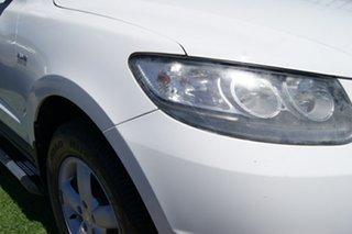 2008 Hyundai Santa Fe CM MY08 Upgrade SLX CRDi (4x4) White 5 Speed Automatic Wagon.