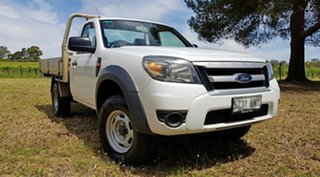 2011 Ford Ranger PK XL Hi-Rider Cool White 5 Speed Manual Cab Chassis.