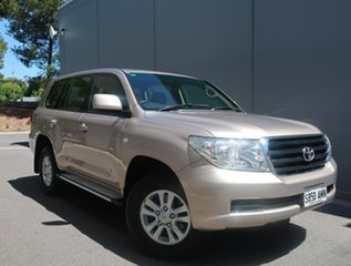 2011 Toyota Landcruiser VDJ200R MY10 GXL Gold 6 Speed Sports Automatic Wagon.