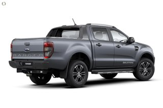 2020 Ford Ranger PX MkIII 2021.25MY Wildtrak Grey 6 Speed Manual Double Cab Pick Up.