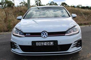 2017 Volkswagen Golf AU MY17 GTi Pure White 6 Speed Manual Hatchback.