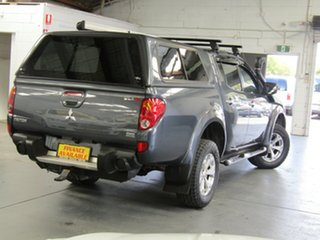 2010 Mitsubishi Triton MN MY10 GLX-R Double Cab Grey 5 Speed Manual Utility