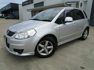 2008 Suzuki SX4 GYB S Silver 4 Speed Automatic Hatchback.