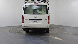 2017 Toyota HiAce KDH201R MY16 LWB Vanilla White 4 Speed Automatic Van