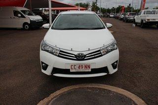 2016 Toyota Corolla ZRE172R SX S-CVT Glacier White 7 Speed Constant Variable Sedan.