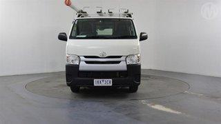 2017 Toyota HiAce KDH201R MY16 LWB Vanilla White 4 Speed Automatic Van.