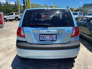 2009 Hyundai Getz TB MY09 SX Blue 5 Speed Manual Hatchback