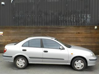 2002 Nissan Pulsar N16 ST Silver 4 Speed Automatic Sedan.