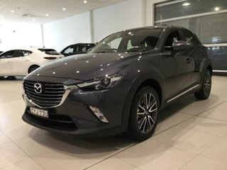 2015 Mazda CX-3 DK4W7A Akari SKYACTIV-Drive i-ACTIV AWD Grey 6 Speed Sports Automatic Wagon