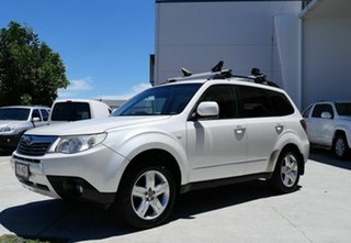 2009 Subaru Forester S3 MY10 X AWD White 4 Speed Sports Automatic Wagon.