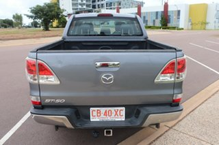 2014 Mazda BT-50 UP0YF1 XTR 4x2 Hi-Rider 6 Speed Automatic Dual Cab Utility