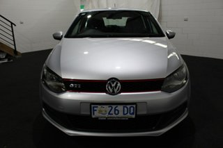2013 Volkswagen Polo 6R MY13.5 GTI DSG Silver 7 Speed Sports Automatic Dual Clutch Hatchback