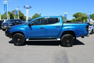 2019 Mitsubishi Triton MR MY19 GLX+ Double Cab Blue 6 Speed Manual Utility