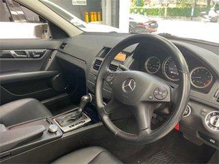 2010 Mercedes-Benz C-Class W204 C200 CGI Classic Iridium Silver Sports Automatic Sedan