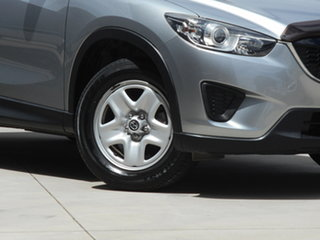 2014 Mazda CX-5 KE1071 MY14 Maxx SKYACTIV-Drive Silver 6 Speed Sports Automatic Wagon.
