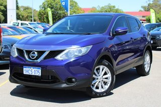 2017 Nissan Qashqai J11 TS Blue 1 Speed Constant Variable Wagon.