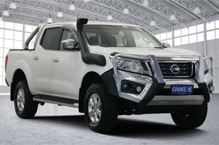 2016 Nissan Navara D23 ST White 6 Speed Manual Utility.