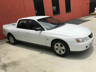 2003 Holden Crewman VY II White 4 Speed Automatic Utility