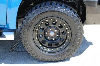 2019 Mitsubishi Triton MR MY19 GLX+ Double Cab Blue 6 Speed Manual Utility
