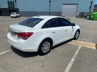 2012 Holden Cruze JH Series II MY12 CD White 6 Speed Sports Automatic Sedan