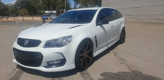 2016 Holden Commodore VF II MY16 SS Sportwagon Black White 6 Speed Sports Automatic Wagon